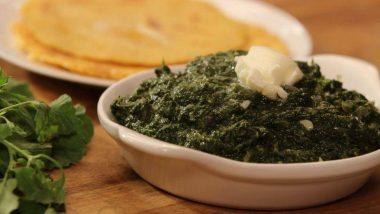 Lohri Recipes 2019: मक्के की रोटी और सरसों के साग के बिना अधूरा है लोहड़ी का त्योहार, इस विधि से बनाएं यह लजीज पकवान