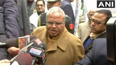 पाकिस्तान इसलिए परेशान है, क्योंकि वो जम्मू-कश्मीर में नहीं करा पा रहा है आतंकियों की घुसपैठ: राज्यपाल