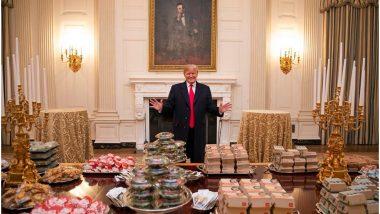 सैलरी नहीं मिलने से नाराज शेफ ने ट्रंप के लिए खाना बनाने से किया मना, व्हाइट हाउस में आया बाहर से खाना