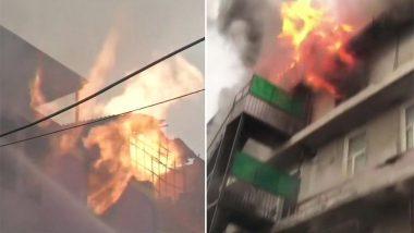 दिल्ली में एक बार फिर आग ने मचाया तांडव, नारायणा के पेपर फैक्ट्री में लगी भीषण आग