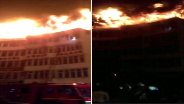 दिल्ली के होटल अर्पित पैलेस में भीषण आग ने मचाया तांडव, 17 लोगों की मौत, रेस्क्यू ऑपरेशन जारी