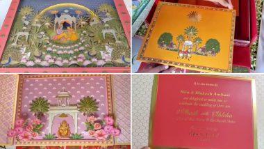 आकाश अंबानी और श्लोका मेहता की शादी का शानदार कार्ड आया सामने, देखें वीडियो