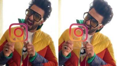 रणवीर सिंह ने इन्स्टाग्राम पर शाहरुख और आमिर को भी पछाड़ा, इस रिकॉर्ड को किया अपने नाम, देखें वीडियो