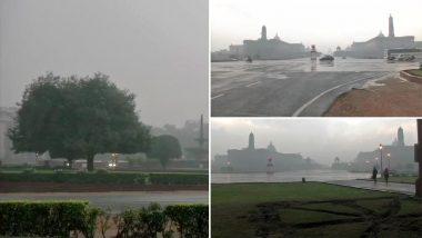 वेलेंटाइन डे पर दिल्ली का मौसम भी हुआ रोमांटिक: NCR समेत कई इलाकों में हल्की बारिश