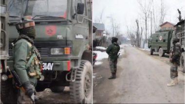 जम्मू-कश्मीर: पुलवामा में मुठभेड़, सुरक्षाबलों ने 2 आतंकियों को घेरा, 1 जवान शहीद