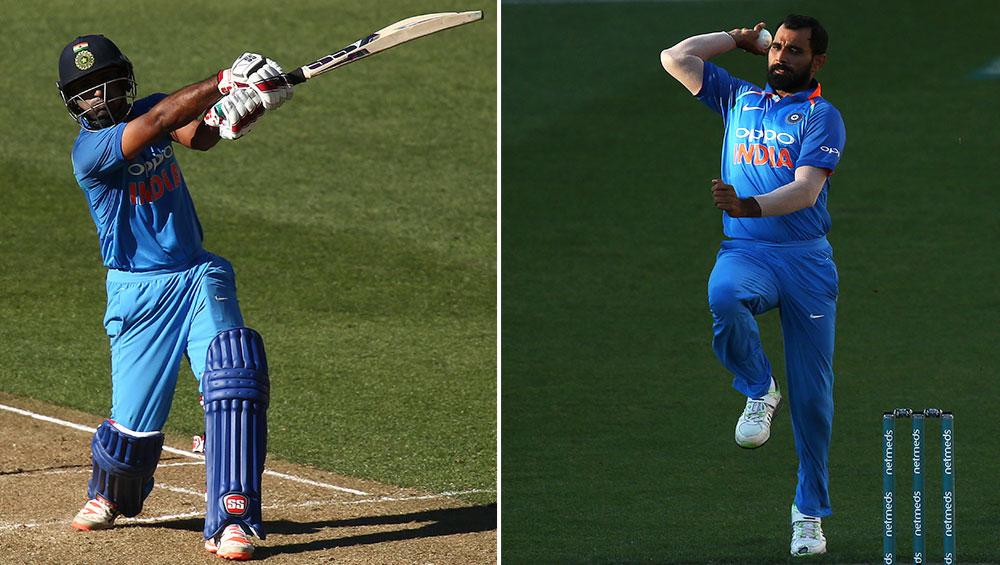 India vs New Zealand 5th ODI 2019: अंबाती रायडू बने मैन ऑफ द मैच, वहीं सीरीज में सर्वश्रेष्ठ प्रदर्शन के लिए मोहम्मद शमी को मिला मैन ऑफ द सीरीज का खिताब