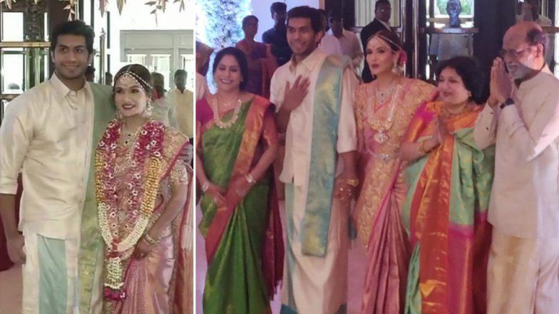 शादी के बंधन में बंधी रजनीकांत की बेटी सौंदर्या, सामने आई खूबसूरत तस्वीरें