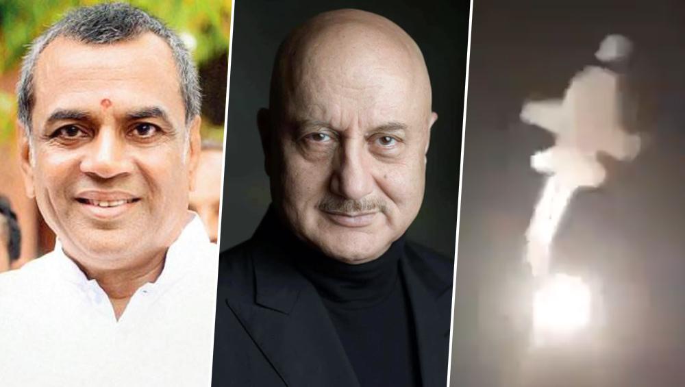 Surgical Strike 2: इंडियन एयरफोर्स ने तोड़ी आतंकवादियों की कमर, परेश रावल ने नरेंद्र मोदी को कहा शुक्रिया, अनुपम खेर बोलें- भारत माता की जय