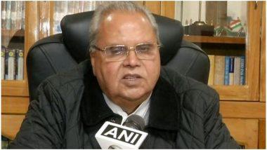 जम्मू कश्मीर के राज्यपाल सत्यपाल मलिक ने कहा- आतंकी जंग हार गए हैं, इसलिए हमले कर रहे हैं