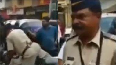 मुंबई: बांद्रा में पुलिस कॉन्स्टेबल को बिना हेलमेट बाइक चलाना पड़ा महंगा, लोगों ने सिखाए नियम, देखें VIDEO