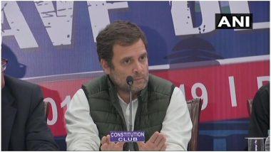 राहुल गांधी का PM मोदी पर हमला, कहा- किसानों को एक दिन का 17 रुपये देकर किया अपमान, चुनाव में सरकार पर जनता करेगी सर्जिकल स्ट्राइक