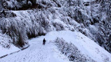 हिमाचल प्रदेश में बारिश और बर्फबारी के आसार, कई इलाकों में बढ़ी भूस्खलन की संभावना