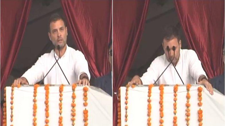 राहुल गांधी ने की पीएम नरेंद्र मोदी की मिमिक्री, बताया 5 साल पहले और अब कैसे देते हैं भाषण, देखें VIDEO