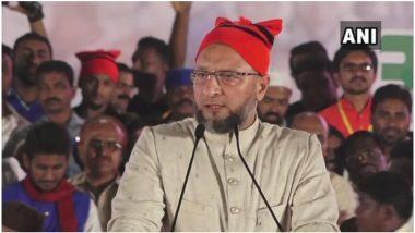 असदुद्दीन ओवैसी ने 17वीं लोकसभा के सदस्य के रूप में ली शपथ, बीजेपी सांसदों ने लगाए जय श्रीराम के नारे