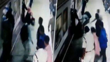 जाको राखे साइयां मार सके ना कोई, मुंबई लोकल ट्रेन के नीचे आते-आते यूं बची ये महिला, देखें- Video