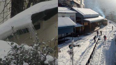 हिमाचल प्रदेश की पहाड़ी क्षेत्रों और मैदानी इलाकों में हुई भारी बर्फबारी और बारिश, सामान्य जीवन प्रभावित
