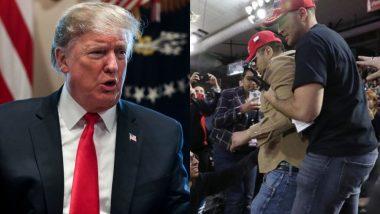 राष्ट्रपति डोनाल्ड ट्रम्प की रैली में कैमरामैन पर हुआ हमला, बीबीसी ने व्हाइट हाउस से सुरक्षा व्यवस्था की मांग की
