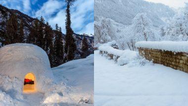 हिमाचल प्रदेश: मनाली में बर्फबारी और शिमला में ओले गिरने से शीतलहर हुई तेज