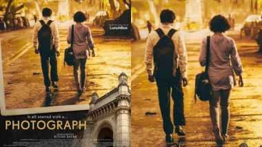 रितेश बत्रा की फिल्म 'फोटोग्राफ' 15 मार्च 2019 को होगी रिलीज