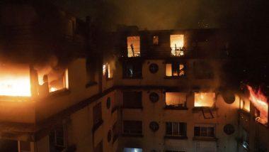 पेरिस: आठ मंजिला इमारत में आग लगने से 8 की मौत 30 से ज्यादा लोग हुए घायल, संदिग्ध हिरासत में