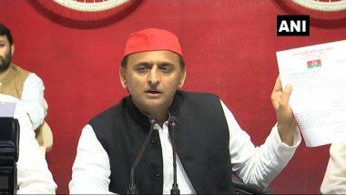 अखिलेश यादव ने बीजेपी पर साधा निशाना, कहा- राष्ट्रीय सुरक्षा को भी वोट की नजर से देख रही है पार्टी