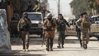 अमेरिका समर्थित सीरियाई बल ने आईएस के 280 जिहादियों को भेजा इराक