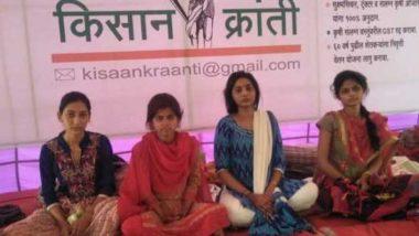 महाराष्ट्र पुलिस और स्थानीय प्रशासन ने लड़कियों की भूख हड़ताल जबरन तुड़वाई