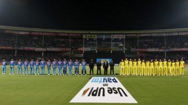 India vs Australia 1st T20 2019: भारत और ऑस्ट्रेलिया ने पुलवामा हमले में शहीद हुए जवानों को दी श्रद्धांजलि, मैदान पर रखा दो मिनट का मौन