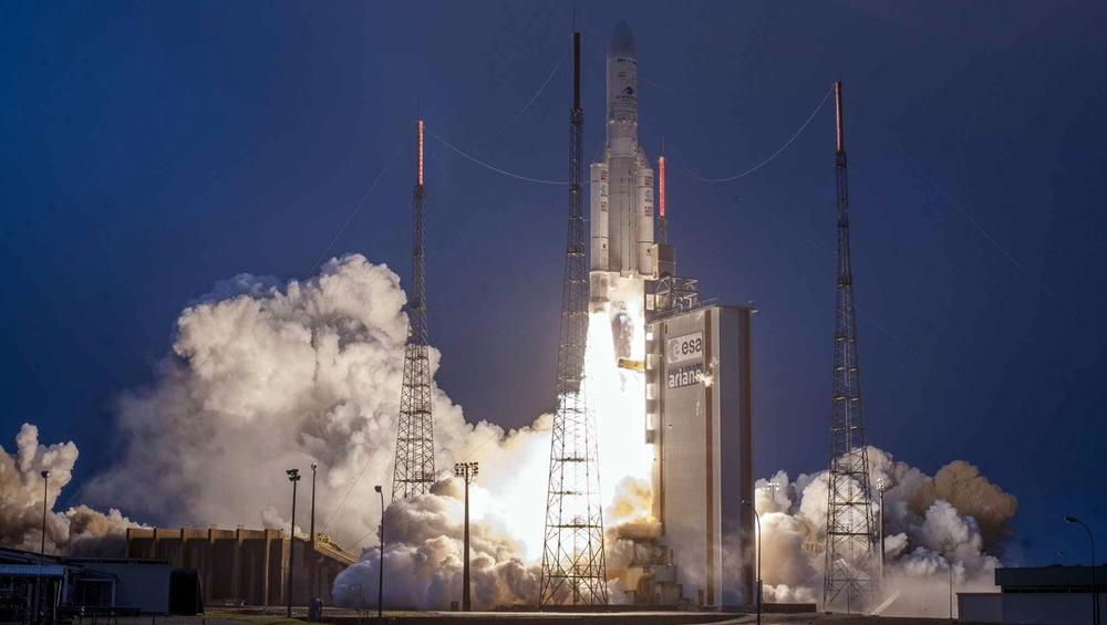 Video: इसरो ने अपने नाम की एक और उपलब्धि, यूरोपीय स्पेस सेंटर से अंतरिक्ष में छोड़ा GSAT-31
