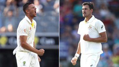 India vs Australia 2019: भारतीय दौरे से पहले ऑस्ट्रेलियाई टीम को लगा तगड़ा झटका, मिशेल स्टार्क और जोश हेजलवुड हुए चोटिल