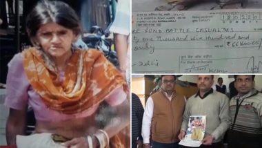 मरने के बाद भिखारी महिला की अंतिम इच्छा पूरी, पुलवामा में शहीदों के परिवार को दिए 6 लाख रूपये