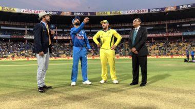 India vs Australia 2nd T20 2019: ऑस्ट्रेलियाई कप्तान एरोन फिंच ने जीता टॉस, लिया गेंदबाजी का निर्णय