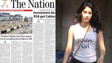 पुलवामा आतंकी हमला: पाकिस्तानी मीडिया ने आतंकी को बताया था फ्रीडम फाइटर, अभिनेत्री जाह्नवी कपूर ने लगाई फटकार