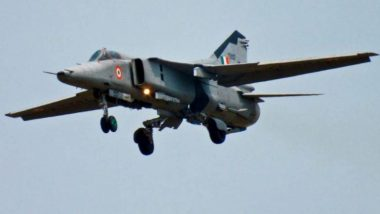 राजस्थानः वायुसेना का मिग-21 लड़ाकू विमान बीकानेर के पास गिरा, पायलट सुरक्षित