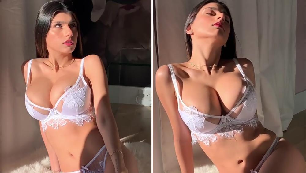 पूर्व XXX पोर्न स्टार मिया खलीफा ने भारत के कॉलेज में लिया एडमिशन, देखें वीडियो