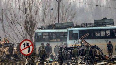 पुलवामा आतंकवादी हमले के सरगना की पहचान इलेक्ट्रिशियन के तौर पर हुई : अधिकारी