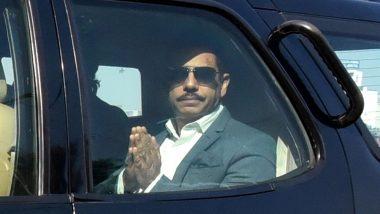 रॉबर्ट वाड्रा पहुंचे ED दफ्तर, मनी लांड्रिंग मामले में होगी पूछताछ