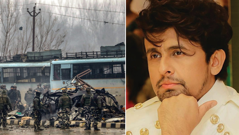 पुलवामा आतंकी हमला: जंग की बात करने वालों पर भड़के सोनू निगम, कहा- लोग जंग की बात करते हैं लेकिन आर्मी में नहीं जाते