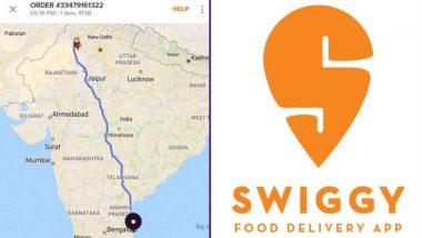Swiggy ने बेंगलुरु से मिले खाने का ऑर्डर राजस्थान से पिक किया! कहा- हम अपने ग्राहकों के लिए चांद तक भी जाकर आ जाएंगे