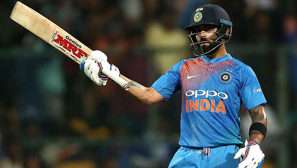 IND vs NZ, ICC Cricket World Cup 2019 Semi-Final: मैच के दौरान मजेदार डांस करते हुए नजर आए विराट कोहली, देखें वीडियो