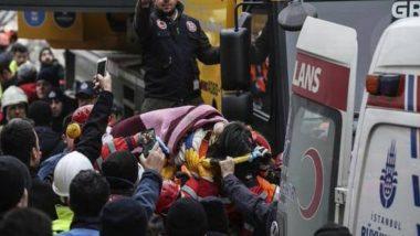 तुर्की: इस्तांबुल में इमारत गिरने से 21 लोगों की हुई मौत, राष्ट्रपति तैयब एर्दोआन पहुंचे अस्पताल
