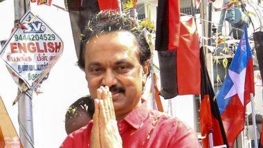 आईएनएक्स मीडिया केस: DMK प्रेसिडेंट एम.के.स्टालिन ने पी चिदंबरम  का किया बचाव, कहा-  कानूनी तरीके से करेंगे आरोपों का सामना