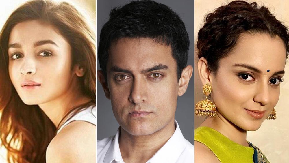 आमिर खान और आलिया भट्ट पर भड़कीं कंगना रनौत, कहा- सब बेशर्म होकर मतलब के लिए फोन करते हैं