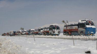 जम्मू-श्रीनगर राजमार्ग एक तरफा यातायात के लिए आंशिक रूप से बहाल