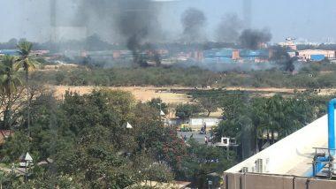 बेंगलुरु: मिराज 2000 ट्रेनर फाइटर एयरक्राफ्ट क्रैश, एक पायलट की मौत