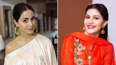 हिना खान ने कर दी ऐसी गलती कि सरेआम सपना चौधरी से मांगनी पड़ी माफी