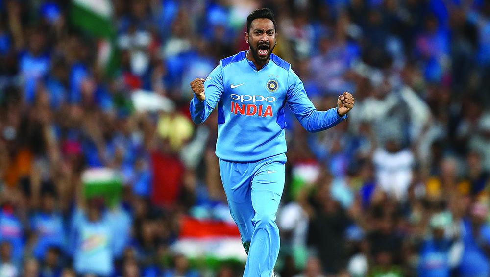 India vs New Zealand 2nd T20 2019: दूसरे वनडे मैच में भारतीय टीम की जीत के नायक रहे कृणाल पंड्या को मिला 'मैन ऑफ द मैच'