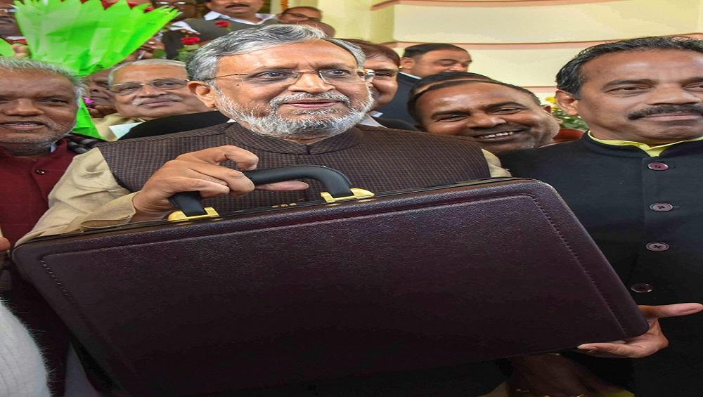 बिहार सरकार ने 2019-20 के लिए पेश किया 2 लाख करोड़ रुपये का बजट