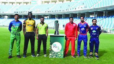 Pakistan Super League 2019: जानिए पाकिस्तान सुपर लीग 2019 का पूरा शेड्यूल, कब, कहां और कितने बजे खेले जाएंगे PSL मैच