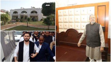 तेजस्वी यादव के बंगले में शिफ्ट हुए सुशील मोदी, कहा- करोड़ों खर्च कर के बंगले को बनाया था 7 स्टार होटल
